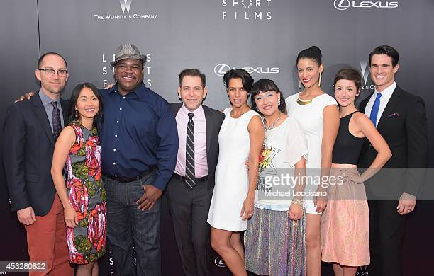 Jon Goldman Hong Chau Leonard Earl Howze Joey Horvit Lance Still Satsuki Okawa Jessica Clark Phoebe Neidhardt and Nick Ballard attend the 2nd Annual...