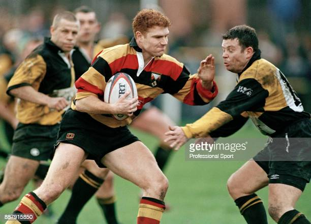 Jon Gregory of Richmond rugby union team in action against Wakefield circa 1996