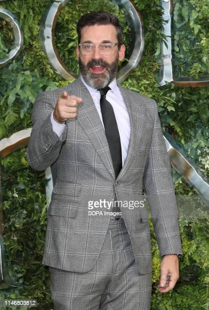 Jon Hamm at the Global TV Premiere of Amazon Original Good Omens at Odeon Luxe Leicester Square
