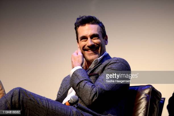 Jon Hamm at The Nice and Accurate event during SXSW at ZACH Theatre on March 09, 2019 in Austin, Texas.