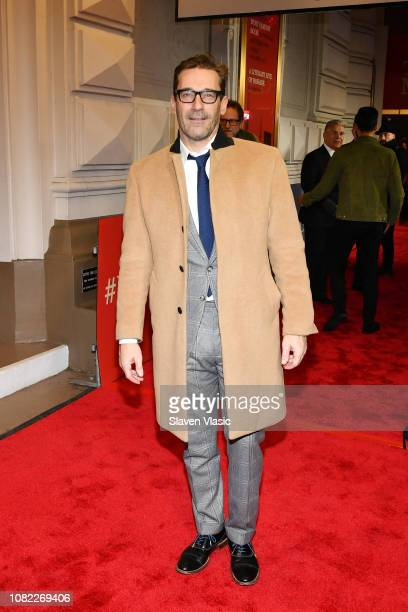 "Jon Hamm attends opening night of ""To Kill A Mocking Bird"" at the Shubert Theatre on December 13, 2018 in New York City."
