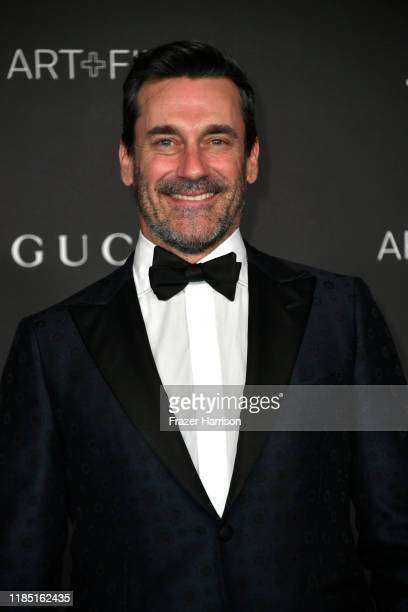 Jon Hamm attends the 2019 LACMA 2019 Art + Film Gala Presented By Gucci at LACMA on November 02, 2019 in Los Angeles, California.