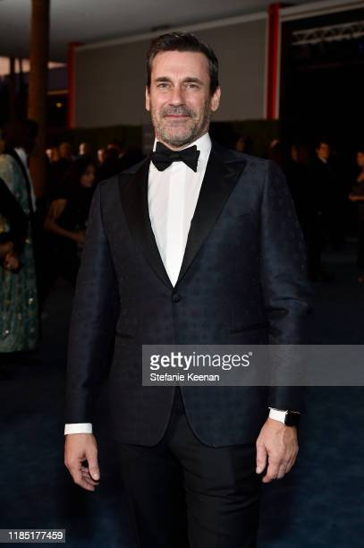 Jon Hamm attends the 2019 LACMA Art Film Gala Presented By Gucci at LACMA on November 02 2019 in Los Angeles California