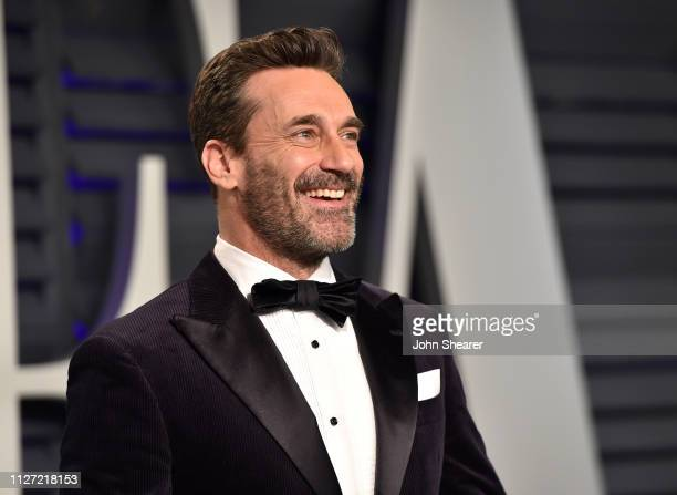 Jon Hamm attends the 2019 Vanity Fair Oscar Party hosted by Radhika Jones at Wallis Annenberg Center for the Performing Arts on February 24 2019 in...