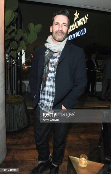 Jon Hamm attends the Above the Penthouse Welcome hClub Los Angeles members to Hollywood at The Residences At W Hollywood on January 5 2018 in...