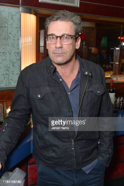 Jon Hamm attends the After Party of Warner Bros Pictures' 'Motherless Brooklyn' on October 28 2019 in Los Angeles California