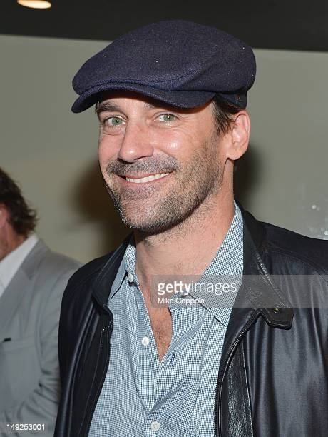 Jon Hamm attends The Campaign New York Premiere at Sunshine Landmark on July 25 2012 in New York City