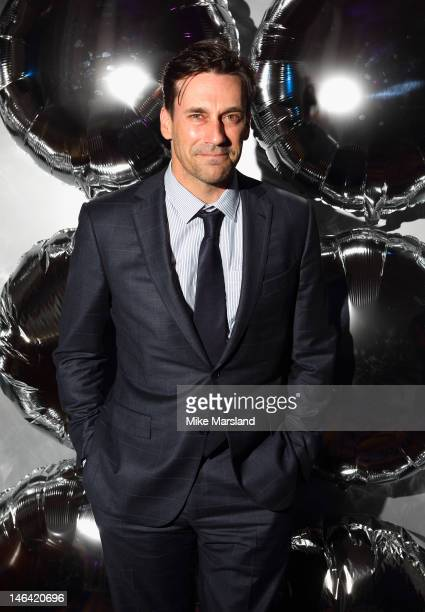 Jon Hamm attends the Esquire Mr Porter London Collections Mens Party at Corinthia Hotel London on June 15 2012 in London England