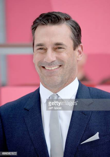 Jon Hamm attends the European premiere of Baby Driver on June 21 2017 in London United Kingdom