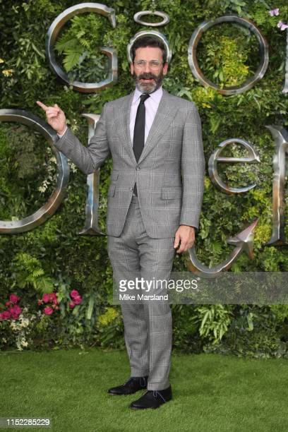 "Jon Hamm attends the Global premiere of Amazon Original ""Good Omens"" at Odeon Luxe Leicester Square on May 28, 2019 in London, England."