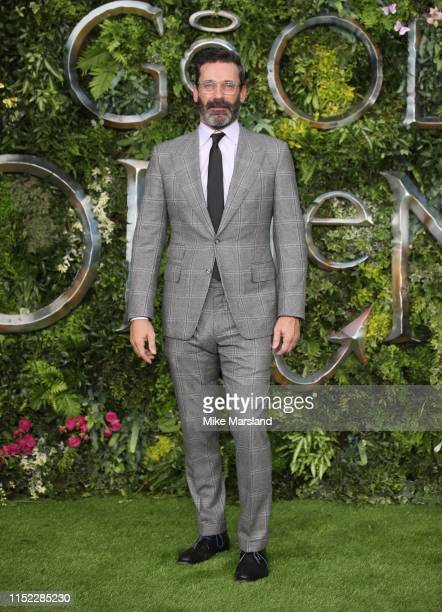 Jon Hamm attends the Global premiere of Amazon Original Good Omens at Odeon Luxe Leicester Square on May 28 2019 in London England