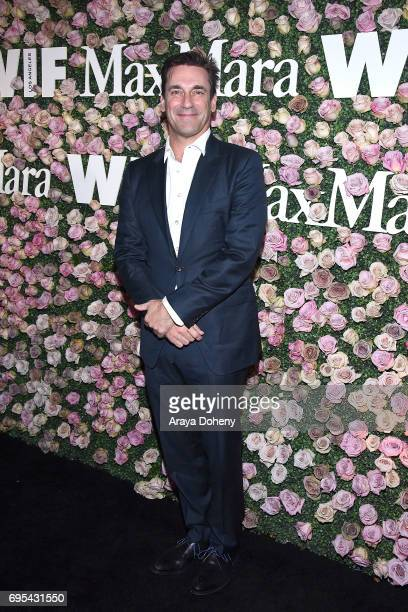 Jon Hamm attends the Max Mara Celebrates Zoey Deutch As The 2017 Women In Film Max Mara Face Of The Future Award Recipient event at Chateau Marmont...