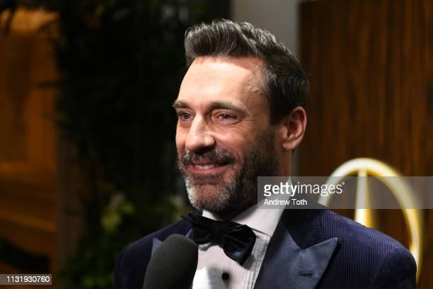 Jon Hamm attends the Mercedes-Benz USA's Oscars viewing party at Four Seasons Hotel Los Angeles at Beverly Hills on February 24, 2019 in Los Angeles,...