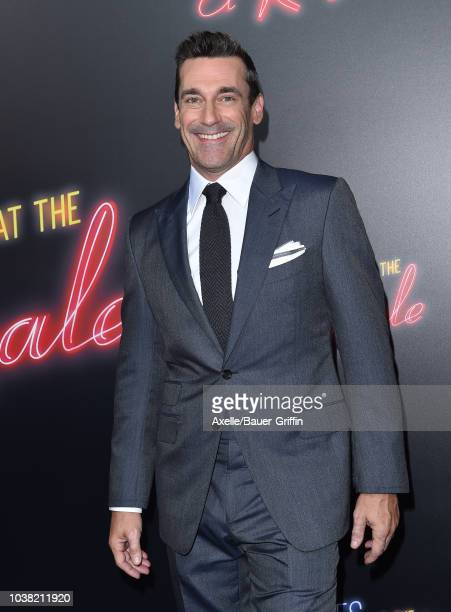 Jon Hamm attends the premiere of 20th Century FOX's 'Bad Times at the El Royale' at TCL Chinese Theatre on September 22 2018 in Hollywood California