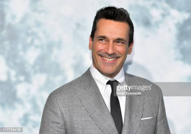 Jon Hamm attends the premiere of FOX's Lucy In The Sky at Darryl Zanuck Theater at FOX Studios on September 25 2019 in Los Angeles California