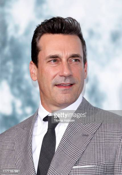 Jon Hamm attends the premiere of FOX's 'Lucy In The Sky' at Darryl Zanuck Theater at FOX Studios on September 25, 2019 in Los Angeles, California.