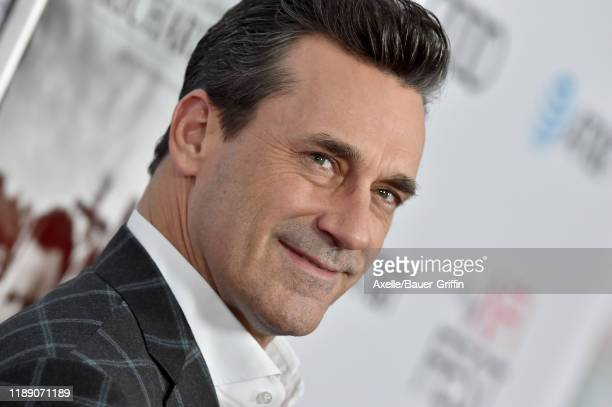 Jon Hamm attends the premiere of Richard Jewell during AFI FEST 2019 presented by Audi at TCL Chinese Theatre on November 20 2019 in Hollywood...