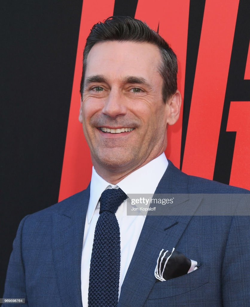 Jon Hamm attends the premiere of Warner Bros. Pictures And New Line Cinema's 'Tag' at Regency Village Theatre on June 7, 2018 in Westwood, California.