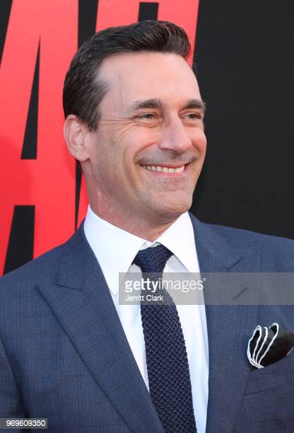 Jon Hamm attends the Premiere Of Warner Bros Pictures And New Line Cinema's Tag at Regency Village Theatre on June 7 2018 in Westwood California