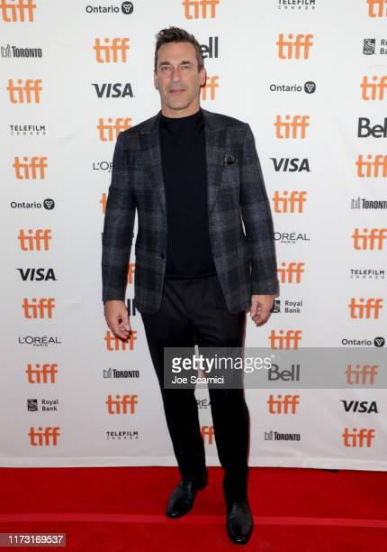 Jon Hamm attends The Report premiere during the 2019 Toronto International Film Festival at Winter Garden Theatre on September 08 2019 in Toronto...