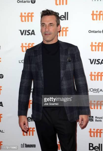 "Jon Hamm attends ""The Report"" premiere during the 2019 Toronto International Film Festival at Winter Garden Theatre on September 08, 2019 in Toronto,..."