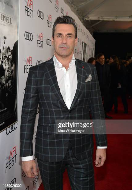 "Jon Hamm attends the ""Richard Jewell"" premiere during AFI FEST 2019 Presented By Audi at TCL Chinese Theatre on November 20, 2019 in Hollywood,..."