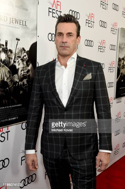 Jon Hamm attends the Richard Jewell premiere during AFI FEST 2019 Presented By Audi at TCL Chinese Theatre on November 20 2019 in Hollywood California