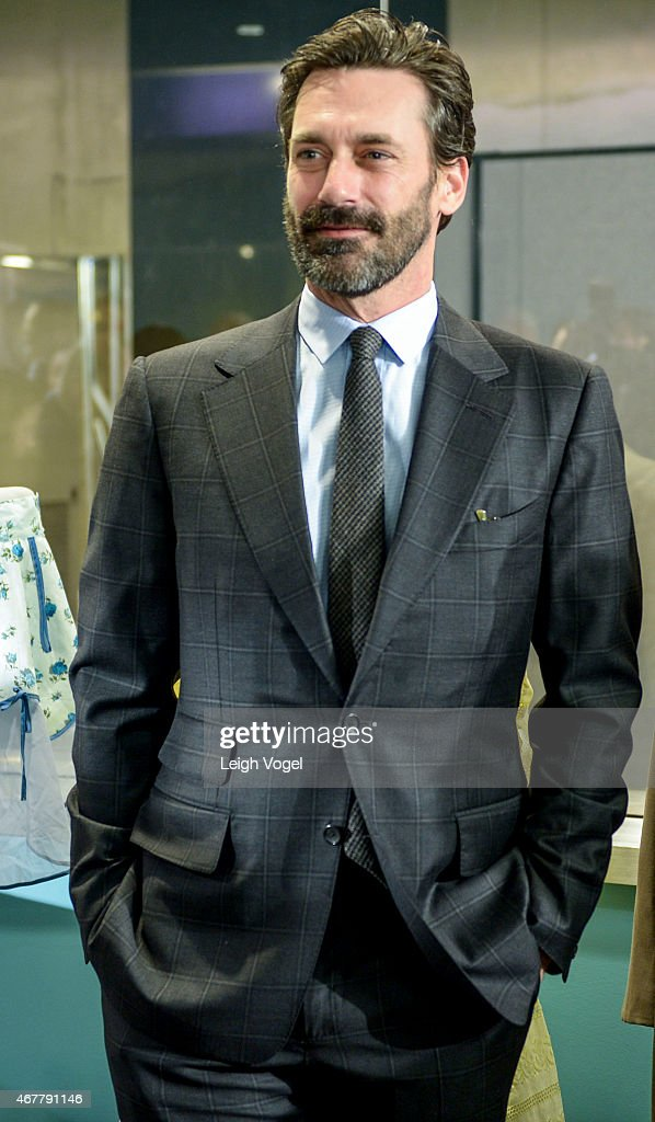 Jon Hamm attends the Smithsonian Museum Of American History: Mad Men Ceremony at Smithsonian National Museum Of American History on March 27, 2015 in Washington, DC.