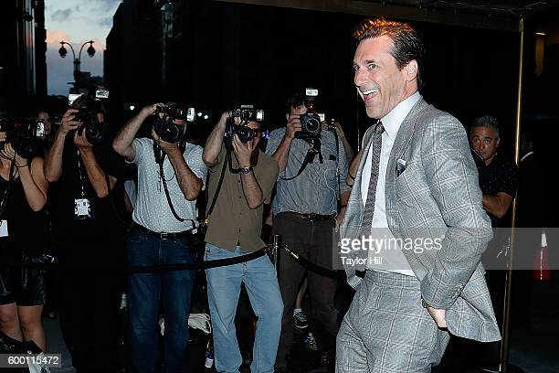 Jon Hamm attends the Tom Ford Fall 2016 fashion show at The Four Seasons on September 7 2016 in New York City