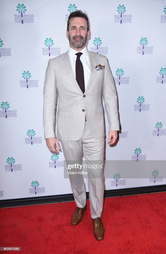 Jon Hamm attends the World Premiere of 'Nostalgia' at the 29th Annual Palm Springs International Film Festival on January 6, 2018 in Palm Springs, California.