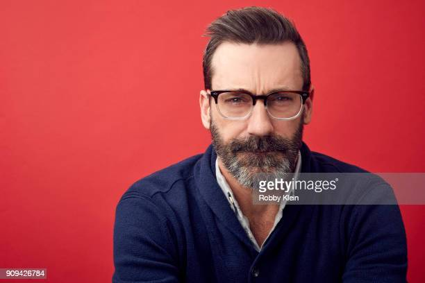 Jon Hamm from the film 'Beirut' poses for a portrait at the YouTube x Getty Images Portrait Studio at 2018 Sundance Film Festival on January 22 2018...