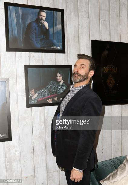 Jon Hamm from The Report attends The Hollywood Reporter 2019 Sundance Studio At Sky Strada, Park City, on January 26, 2019 in Park City, Utah.