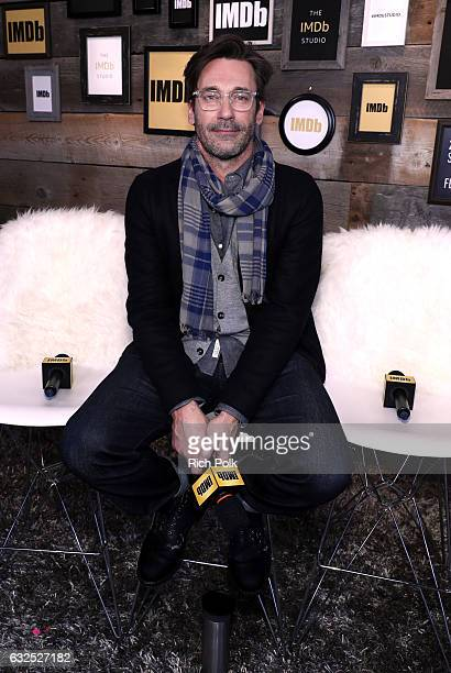 Jon Hamm of 'Marjorie Prime' attends The IMDb Studio featuring the Filmmaker Discovery Lounge presented by Amazon Video Direct Day Four during The...