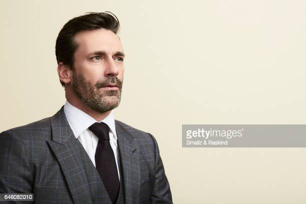 Jon Hamm poses for portrait session at the 2017 Film Independent Spirit Awards on February 25 2017 in Santa Monica California