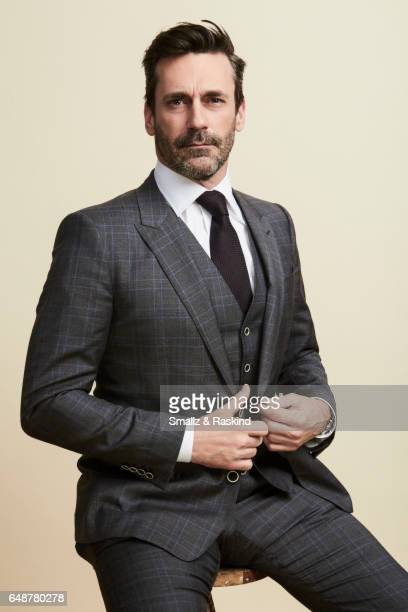 Jon Hamm poses for portrait session at the 2017 Film Independent Spirit Awards on February 25, 2017 in Santa Monica, California.