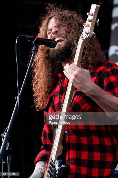 Jon Harvey from Monster Truck performs during the 'Louder Than Life' Music Festival in Champions Park on October 05 2014 in Louisville Kentucky