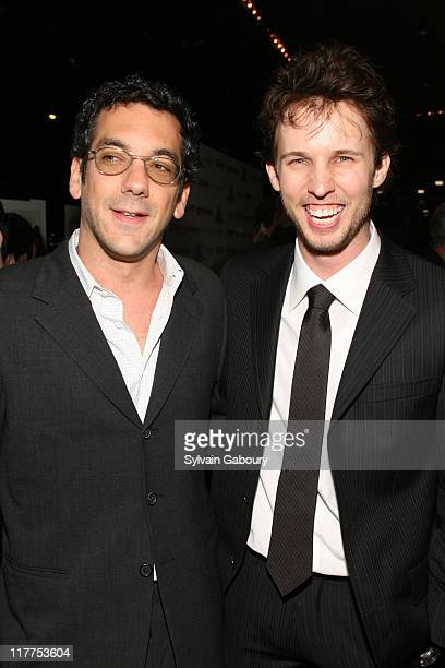 """Jon Heder and Todd Phillips during """"School For Scoundrels"""" New York Premiere at AMC Loews Lincoln Square in New York City, New York, United States."""