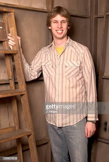 "Jon Heder during 2004 Sundance Film Festival - ""Napoleon Dynamite"" Portraits at HP Portrait Studio in Park City, Utah, United States."