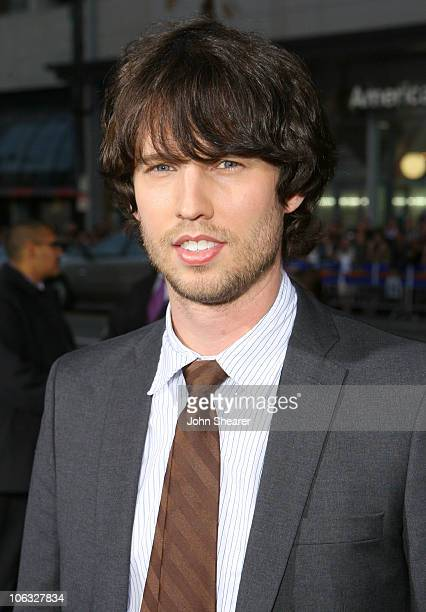 Jon Heder during Blades of Glory Los Angeles Premiere Red Carpet at Mann's Chinese Theater in Hollywood California United States