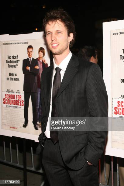 """Jon Heder during """"School For Scoundrels"""" New York Premiere at AMC Loews Lincoln Square in New York City, New York, United States."""