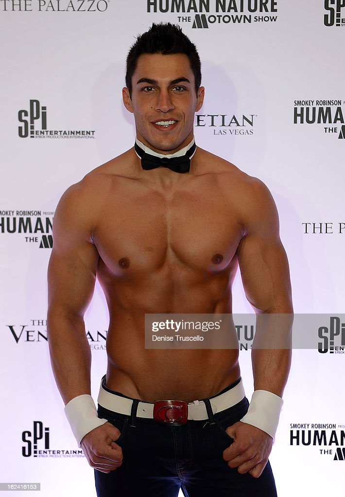 Jon Howes Of Chippendales at 'Smokey Robinson Presents Human Nature: The Motown Show' opening at The Venetian Resort Hotel Casino on February 22, 2013 in Las Vegas, Nevada.