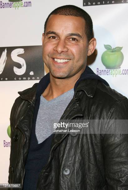 Jon Huertas attends Neil LaBute's 'The Mercy Seat' Los Angeles Opening Night at Inside The Ford on March 19 2011 in Hollywood California