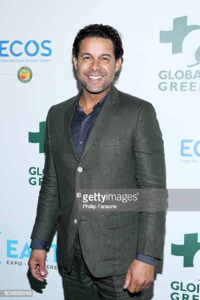 Jon Huertas attends the 15th Annual Global Green PreOscar Gala on February 28 2018 in Los Angeles California