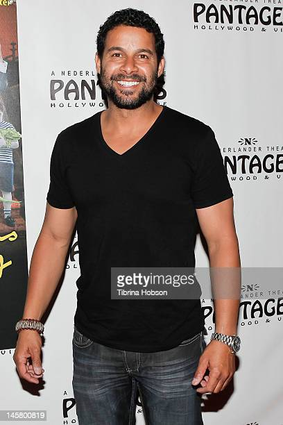 Jon Huertas attends 'The Addams Family' opening night premiere at the Pantages Theatre on June 5 2012 in Hollywood California