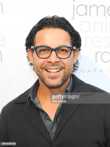 Jon Huertas attends the Jameson Animal Rescue Ranch Presents Napa Wood A Wildlife Relief Benefit For The Animals Of Napa Valley at a Private...