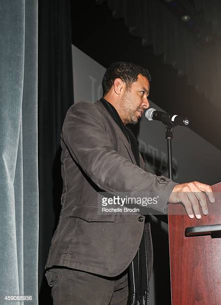 Jon Huertas attends the NUVOtv's 'NUVO Point of View The Emerging Latino Filmmakers' Screening At The NewFilmmakers LA Film Festivalon on November 15...