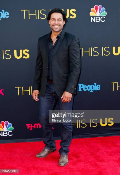 Jon Huertas attends the premiere of NBC's 'This Is Us' season 2 at NeueHouse Hollywood on September 26 2017 in Los Angeles California