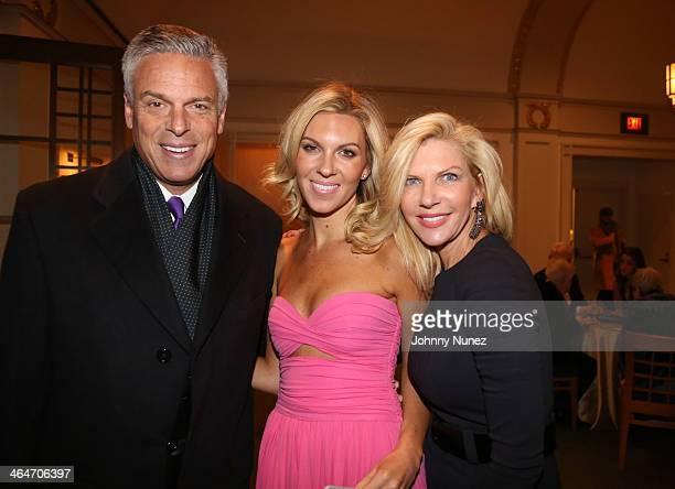 Jon Huntsman Jr., Mary Anne Huntsman and Mary Kaye Huntsman attend at Carnegie Hall on January 23, 2014 in New York City.
