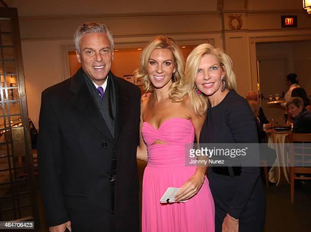 Jon Huntsman Jr Mary Anne Huntsman and Mary Kaye Huntsman attend at Carnegie Hall on January 23 2014 in New York City