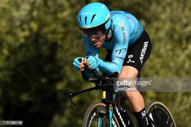 Jon Izaguirre Insausti of Spain and Astana Pro Team / during the 65th Ruta del Sol 2019 Stage 3 a 163km an Individual Time Trial stage from Mancha...